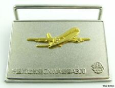 Desk Business card Holder Paper Weight - CNWA A300 Plane Chinese Airline Service