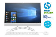 "All in One HP Computer 24"" Windows 10 8GB 1TB Webcam DVD+RW WiFi (FULLY LOADED)"