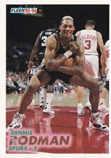 "1993-94 Fleer - Dennis ""Hulk Hogan"" Rodman #378 - Spurs"