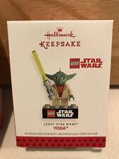 Hallmark Ornament 2013 Yoda Lego Star Wars NEW