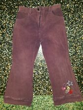 GIRLS Sz 6 purple BRATZ trousers CUTE! COOL!