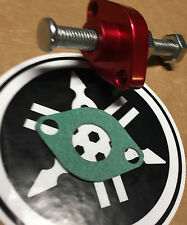 YAMAHA RAPTOR 350 -BILLET MANUAL CAM CHAIN TENSIONER anodized USA RED 10