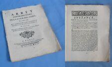 CONFIRMATION de JUGEMENT sur des VINS soupçonnés FRELATÉS / 1747