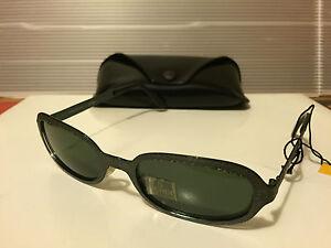 NEW FENDI - FS182 - Sunglasses, Hunter Green Frame / Grey Lens