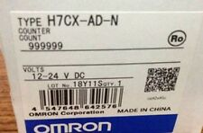 OMRON Automation Safety H7CX-AD-N H7CX-A Screw Terminal Digital Counter 12-24VDC