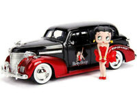 1/24 Jada 1939 Chevrolet Master Deluxe & Betty Boop Figure Diecast Model 30695