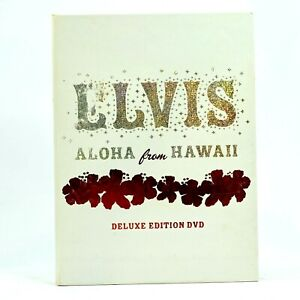 Elvis Presley Aloha from Hawaii Deluxe Edition Rare DVD R0 Acceptable Condition