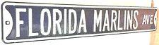 Florida Marlins Aveune Heavy Steel Street Sign - MLB