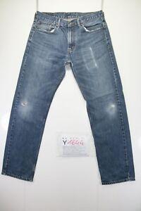 Levis 505 Boyfriend (Cod. Y1644) tg47 W33 L32 jeans vita alta usato Vintage