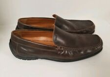 Ecco Shoes Mens Size 47 Brown Slip On Loafer