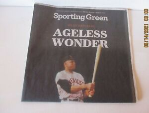 """WILLIE MAYS """"AGELESS WONDER"""" - 12 PAGE FEATURE - 5-6-2021 - VG - FREE SHIPPING"""