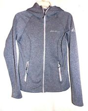 EDDIE BAUER WOMENS FIRST ASCENT LIGHT WEIGHT HOODED JACKET IN GRAY SIZE-XS