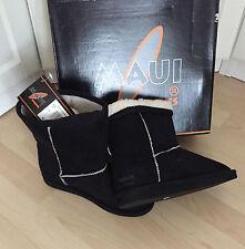 Stiefel Boots Schwarz von Maui Sports EUR Größe 38 size US 7 Neu im Karton