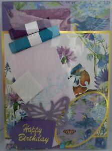 A6 RSPB Inspired Card Making Kits - Papercraft - Various Designs (#13)