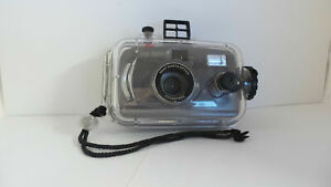 Snap Sights 35mm Film Camera + Underwater Case Waterproof to 100ft,