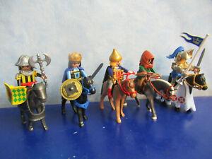 5 TOP Ritter Pferde Waffen Figuren zu 3666 6000 4865 Ritterburg Playmobil 5583