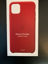 *Brand New Sealed* Apple iPhone 11 Pro Max Leather Case Product Red* *MX0F2ZM/A*