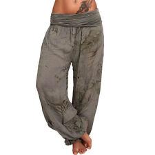 Pantaloni da donna verde di cotone taglia 40
