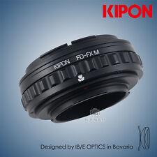 Kipon Adapter W/ Helicoid Macro Tube for Canon FD Lens to Fuji FX X-Pro2 Camera