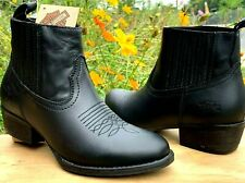 Harley-Davidson Women's Size 5 1/2 M Curwood Black Motorcycle New Boots D84313