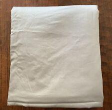 Ralph Lauren King Flat Sheet OPAL GREY Dunham SATEEN~300 Thread Ct