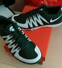 NIKE FREE TRAINER 5.0 V6 AMP..MICHIGAN STATE SPARTANS..SIZE MEN 9/or WOMEN 10.5
