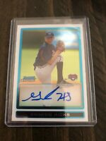2009 Bowman Chrome Prospect Autograph Graham Hicks #BCP98
