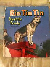 Rin Tin Tin One of the Family Book 1953 Vintage Cozy Corner Series