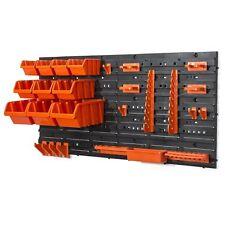 Kit de herramientas del sostenedor del estante de Almacenamiento Herramientas Garaje Organizador Colgador de pared Mangas de placa