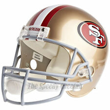 SAN FRANCISCO 49ERS RIDDELL VSR4 NFL FULL SIZE REPLICA FOOTBALL HELMET