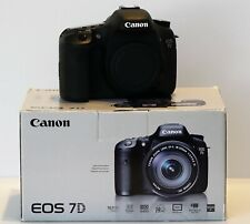 Canon EOS 7D 18.0 MP Digital SLR Camera - Mint in Box less than 1,500 clicks!!