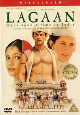 LAGAAN - ONCE UPON A TIME IN INDIA  - 2 DISC SET - BOLLYWOOD DVD - Aamir Khan,