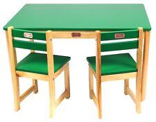 TikkTokk BOSS Rectangular Table and Chair Set - green