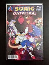 AUTOGRAPHED Archie Comics SONIC UNIVERSE Issue #1 (Feb. 2009)