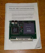 ACORN RISC PC 486 x86 PROCESSOR CARD - ACA56 IBM 486 DX4