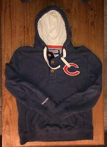 Mitchell Ness hooded BEARS vintage sweatshirt - L (fits like a true MEDIUM!!)