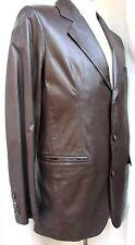Chaqueta Blazer Piel hombre T.46 Leather BLAZER man Jacket Nueva mira Medidas
