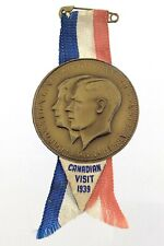 Royal Visit 1939 to Canada Coronation King George VI Queen Elizabeth Pin N338