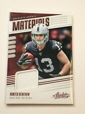 F63263  2019 Absolute Absolute Rookie Materials #20 Hunter Renfrow RAIDERS