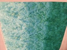 Riverwoods Collection-Serendipity-Teal Cotton Fabric by Karen Combs for Troy
