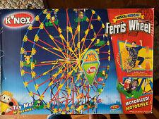 K'Nex Musical Ferris Wheel Building Set 3 Models 2003