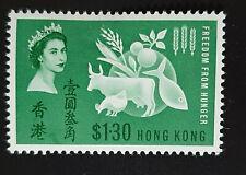 HONG KONG 1963 FREEDOM FROM HUNGER SG 211 MLH OG