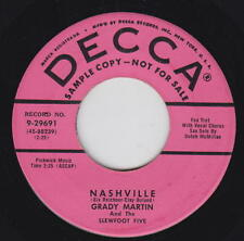 Grady Martin & The Slewfoot Five 45rpm Decca 29691 PROMO Nashville/Don't Take
