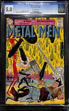 Metal Men #1 CGC 5.0 DC 1963 Key Silver Age! from Showcase VG/F Copy! H11 129 cm