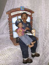 """""""Protect and Serve"""" 2002 Daddys Figurines"""