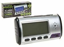 CAMERA ALARM CLOCK Digital Clock With Cam Gift BOX  Audio Video Recorder NEW UK