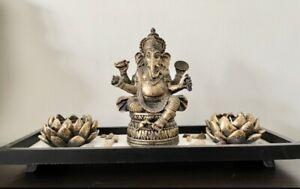 New Ganesh Tea Light Candle Holder Home Decor Diwali Gift Temple.