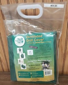Big Green Egg Ventilated Grill Cover, Large, Medium, with Eggmate, NIP!!!