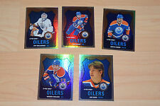 Lot of 12 OPC O-Pee-Chee Rainbow Edmonton Oilers cards 2007-08 to 2010-11