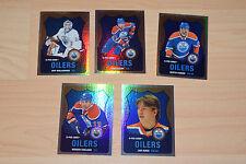 Lot of 12 OPC O-Pee-Chee Rainbow Edmonton Oilers cards 2007-08 to 2010-11